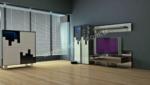 EVGÖR MOBİLYA / Aynalı Tasarım Calimera Tv Ünitesi