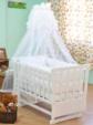 BEBEKONFOR BEŞİK MOBİLYA İMALAT & TEKSTİL  / Bebekonfor Kayra Beyaz Fransız Collection Bebek Besik