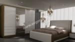 EVGÖR MOBİLYA / Ceviz Beyaz Model Yatak Odası