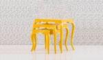 Yıldız Mobilya / Venüs Zigon Sehpa Sarı