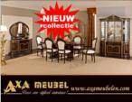 .AXA WOISS Meubelen / klasik parlak maun rengi yemek odası takımı  58 1227