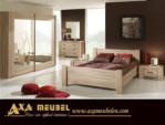 .AXA WOISS Meubelen / Modern ve şık tasarımlı meşe rengi yatak odası takımı 12 1523