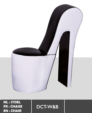 Royal Meubel & Bedden & Boxsprings / Zwart wit design stoel