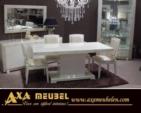 .AXA WOISS Meubelen / mükemmel design avantgarde beyaz parlak yemek odası