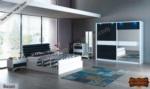 mobilyaminegolden.com / Nesa Mavi Yatak Odası