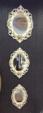 vizyonev /  dekoratif 3 lü ayna   014