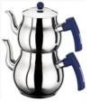 Alkapıda.com / Zerden Mini Boy Vizyon Sade Mavi Çaydanlık