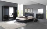 :::STAR MÖBEL / siyah yatak odasi