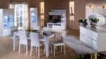 İstikbal Hollanda / kristal yemek odası takımı
