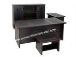 cömert ofis ve büro mobilyaları / Deri sümenli makam Takımı
