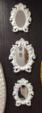 vizyonev / dekoratif 3 lü ayna 015