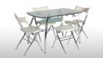 Istikbal HAMBURG / Alfa masa- katlanır sandalye takımı