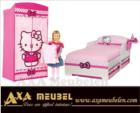 .AXA WOISS Meubelen / hello kitty pembe çocuk odası mobilyası 54 8364
