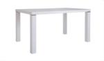 Asır Meubel / Yemek masasi beyaz/siyah 130cm