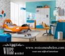 ****AXA WOISS Meubelen / Dusty Disney Planes çocuk odası takımı uçak karyola WOISS Mobili
