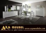 .AXA WOISS Meubelen / işte bu harika....  parlak beyaz modern yemek odası takımı  31 1681