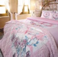 Alkapıda.com / Özdilek Çift Kişilik Love Never Ends Premium Battaniyeli Nevresim Takımı