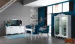mobilyaminegolden.com / Alyans Mavi Yemek Odası
