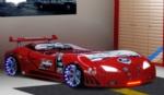 www.dekorsanal.com / Arabalı Yatak M3 Extreme Kırmızı