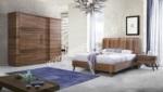 Mobilyalar / Pidelfa Ahşap Yatak Odası