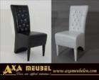 .AXA WOISS Meubelen / Swarovski Taşlı, Deri veya kumaş Sandalye 66 1905