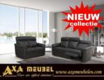 .AXA WOISS Meubelen / şık kaliteli hakiki deri relax mekanizmalı koltuk takımı