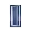 Rabelya Home Design / 4283010 Schuifdeur 3-delig 2,2mm Acryl Plieger Economy 88-94x185