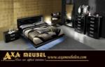 .AXA WOISS Meubelen / harika bir tasarım lux parlak yatak odası takımı