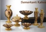 Alkapıda.com / Çıdam Seramik Semerkant Konsol Set Kahve