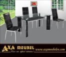 ****AXA WOISS Meubelen / hem ucuz hem şık modern yemek masası takımı