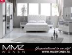 Klasik yatak oda takimi - Surmeli dolap - Aynali dressoir - lux karyola - beyaz
