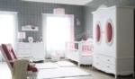 Yıldız Mobilya / London  Country Bebek Odası Pembe