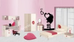 Mobilyalar / Marelda Kız Çocuk Odası