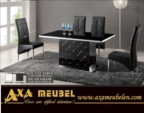 ****AXA WOISS Meubelen / Modern tasarımlı swarovski taşlı şık yemek masası