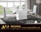 .AXA WOISS Meubelen / Modern tasarımlı swarovski taşlı şık yemek masası