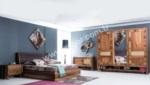 EVGÖR MOBİLYA / Piyonist Masif Ahşap Yatak Odası