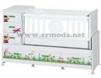 ERMODA Modüler Mobilya / Ermoda Sedef Bee Beşik 60x120 KARGO ÜCRETSİZ