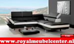 Royal Meubel & Bedden & Boxsprings / Two tone longchair  Yeni design