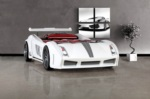 www.setay.com.tr / Lamborghini arabalı yatak -beyaz