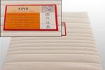 Royal Meubel & Bedden & Boxsprings / King Pocket 5 zone Latex Matras