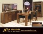 .AXA WOISS Meubelen / Çok Ucuz...   swarovski taşlı modern şık yemek odası takımı