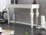 arge mobilya  / beyaz lake dresuarlar