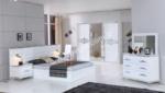 EVGÖR MOBİLYA / Modern Riva Beyaz Yatak Odası