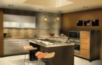 Yankı Mutfak Banyo / Doğal Kaplamalı Mutfak Dolapları