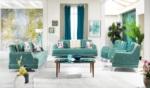 Yıldız Mobilya / Liverno Salon Takımı-Su Yeşili