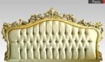 Poliüretan yatak başlıkları / Siyah beyaz Altın varak gümüş yatak başlıkları