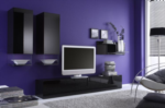 Ela Wonen / TV UNIT MATERA BLACK