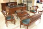 Yılmaz Ofis Mobilyaları / Enyo Ahşap Ofis Koltuk Takımı