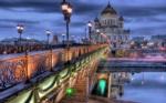 Alkapıda.com / Köprü ve Şehri Aydınlatan Işıklar Canvas Tablo shr-1047