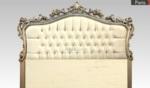 Poliüretan yatak başlıkları / gümüş eskitme yatak başlığı
